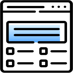App for shipping logistics icon